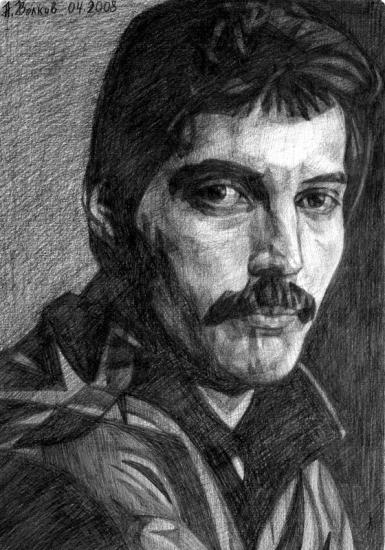Freddie Mercury par volkov